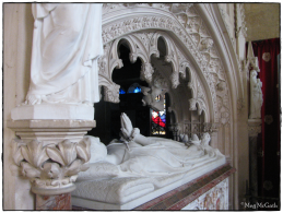 The tomb erected for Queen Katherine Parr in St. Mary's Chapel, Sudeley Castle.