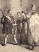 The marriage of King Henry VIII and Katherine Parr