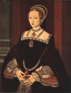 Formally called 'Lady Jane Grey', now Queen Katherine Parr.