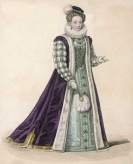 Modern depictions of the six queens: Katherine Parr by Mary Evans, 2008