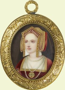 Portrait of a Lady called Katherine Parr