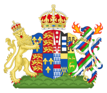 Royal Coat of Arms of Queen Katherine Parr