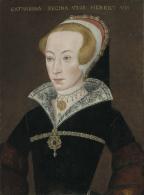 English School, c. 1590-1620: Portrait of Katherine Parr