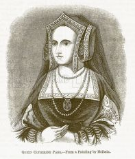 Queen Katherine from 'The Pictorial History of England'