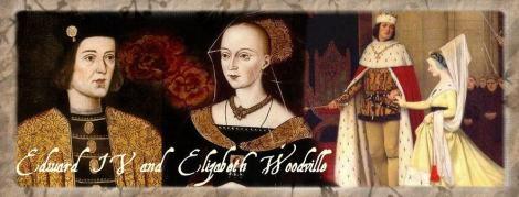 Edward IV and Elizabeth Woodville by Sophie Carter.