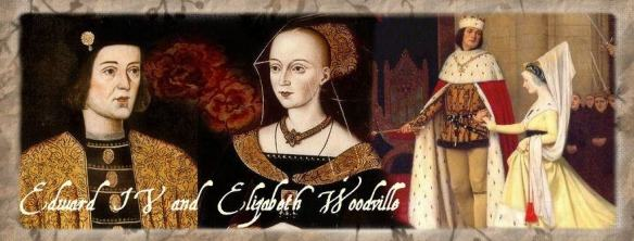 Edward IV and Elizabeth Woodville by Sophie Carter.