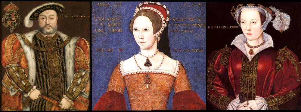 The Relationships of Lady Mary Tudor: Henry VIII and his consort Katherine Parr pt. 2 (1/4)