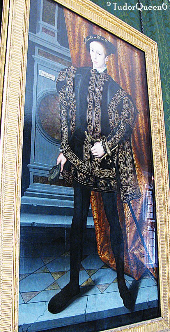 Hampton Court Palace -- King Edward VI