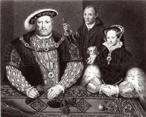 The Relationships of Lady Mary Tudor: Henry VIII and his consort Katherine Parr pt. 2 (3/4)