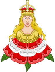 Royal Emblem of Queen Katherine Parr