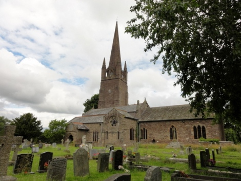 Church of St. Peter and St. Paul, Weobley, Hertforshire. Agnes is buried with her 3rd husband. Her first husband, Sir Walter Devereux, has his own tomb and effigy.