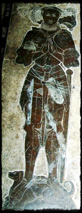 Sir Thomas Green (IV) tomb at St. Bartholomew's in Greens Norton with wife Lady Matilda (Throckmorton).
