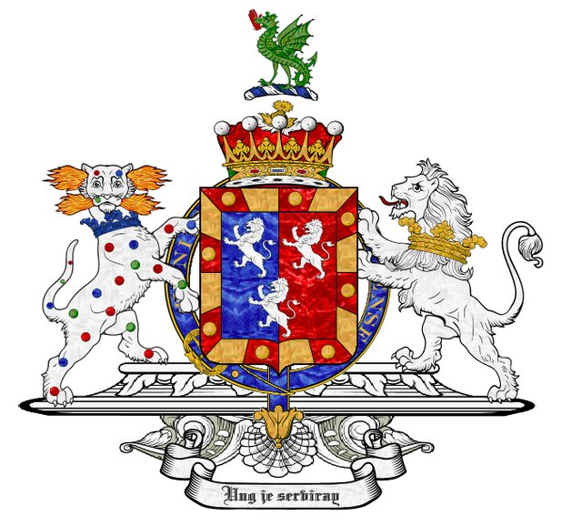 Arms of Sir William Herbert, 1st Earl of Pembroke (10th creation)