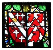 Coat of arms of Sir Thomas Howard, Earl of Surrey and his wife Elizabeth Tilney.