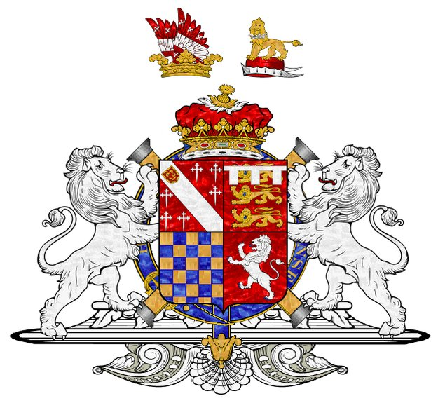 2nd to 4th Duke of Norfolk by European Heraldry (1483 creation).