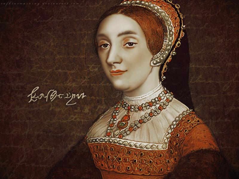 Queen Katherine Howard, wife no. 5.
