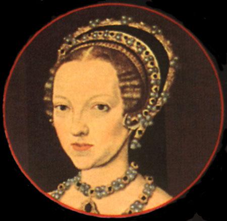 """Queen Katherine Parr: """"The Jersey Portrait""""   tudorqueen6"""