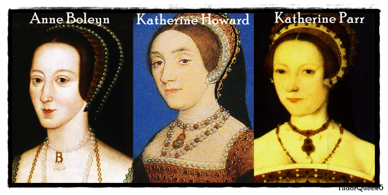 Anne Boleyn (wife no. 2), Katherine Howard (wife no. 5), and Katherine Parr (wife no. 6) were all cousins to Lady Dacre.