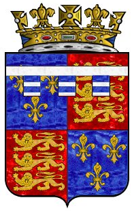 Coat of arms of Edward Plantagenet, 17th Earl of Warwick, the last male Plantagenet.