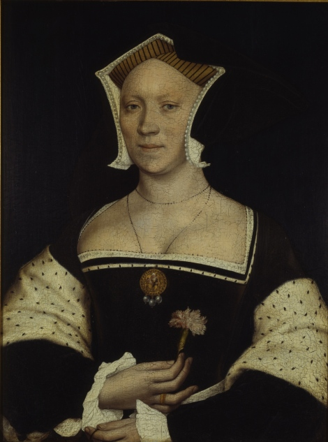 Elizabeth, Lady Vaux of Harrowden, wife to the 2nd Baron Vaux.