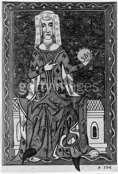 Medieval depiction of Princess Joan of Kent.