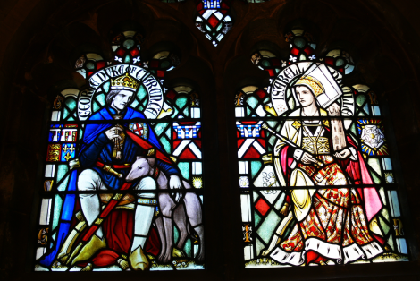 The Duke and Duchess of Clarence, Cardiff Castle. From WikiCommons, no copyright.