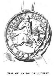 Sudeley Castle History: Ralph Boteler, 1st BaronSudeley