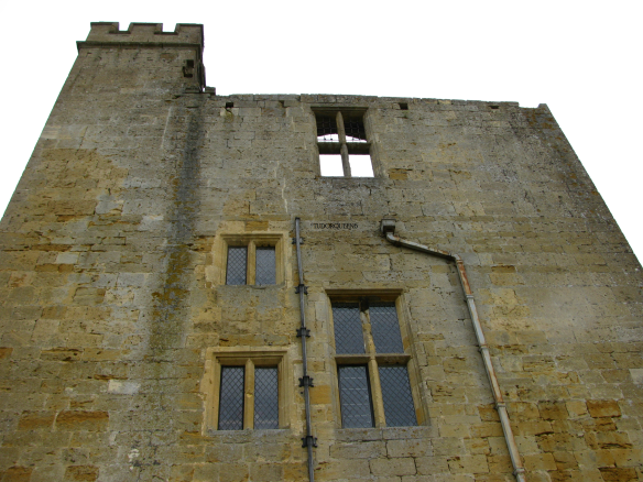 The Dungeon Tower of Sudeley Castle.