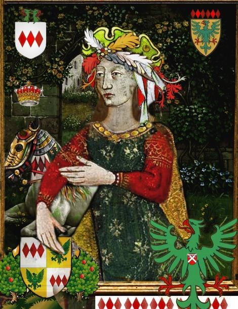 Alice Montacute, suo jure 5th Countess of Salisbury.