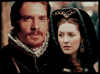 "Edward and Anne from ""The Tudors"""