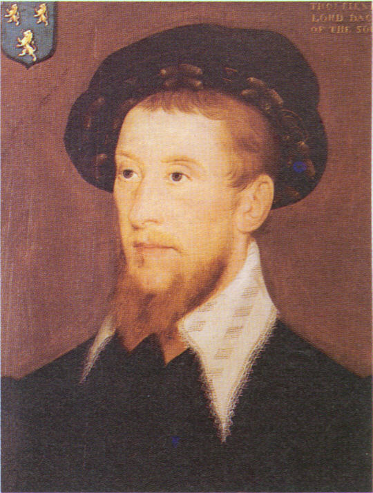 Thomas Fiennes, Baron Dacre, father to Lady Dacre.