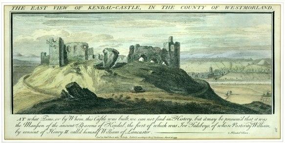 Kendal Castle, 1739.
