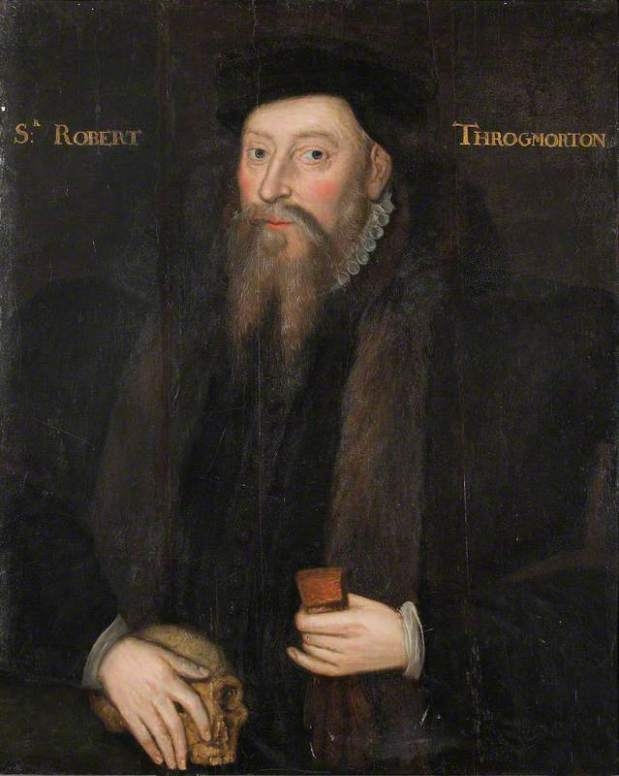 Robert Throckmorton by British School (c) National Trust, Coughton Court; Supplied by The Public Catalogue Foundation