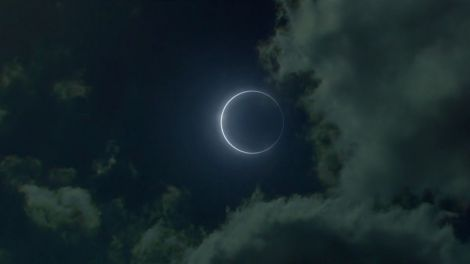 The Eclipse as portrayed in the the BBC TV Series 'The White Queen'