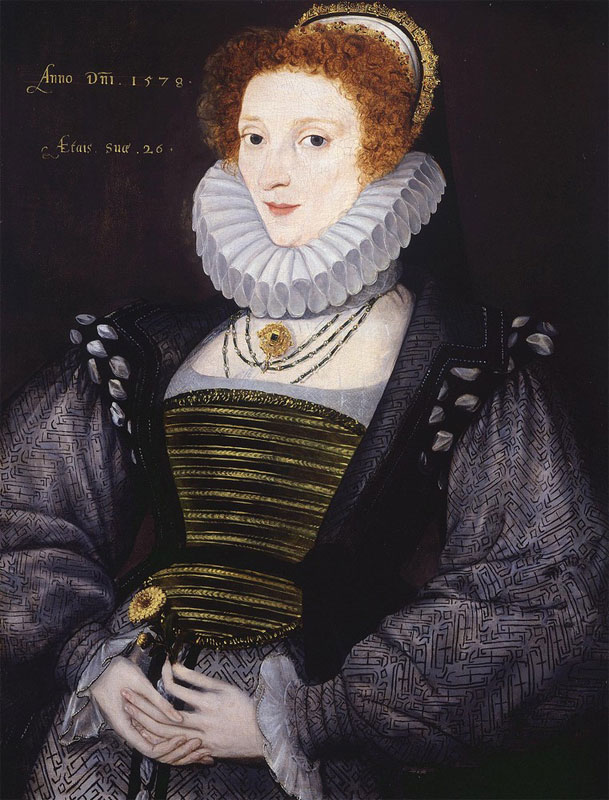 Unknown Woman by Gower, 1578 is NOT Anne Bourchier.