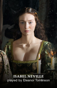 Lady Isabel (Eleanor Tomlinson)