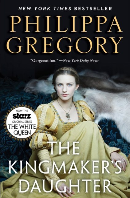 "Philippa Gregory's new covers to promote ""The White Queen."""