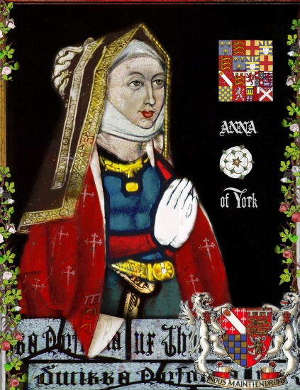 Anne of York, Lady Howard.