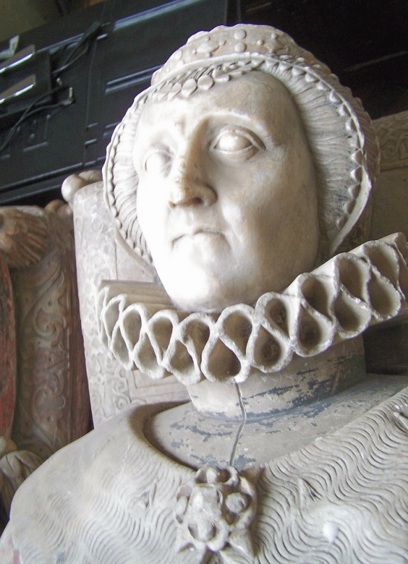 Effigy of Hon. Magdalen, Viscountess Montague.