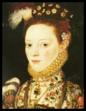 'The Master of the Countess of Warwick', 'Portrait of a lady, aged 21, possibly Helena Snakenborg', dated 1569.