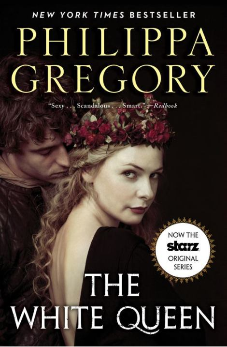 """Philippa Gregory's new covers to promote """"The White Queen."""""""