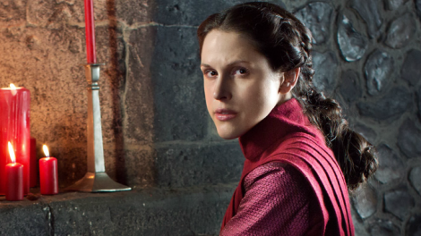 Lady Margaret Beaufort portrayed by Amanda Hale.