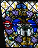 Royal emblem of Queen Jane Seymour, the Phoenix.