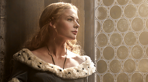 Elizabeth Woodville portrayed by Rebecca Ferguson.