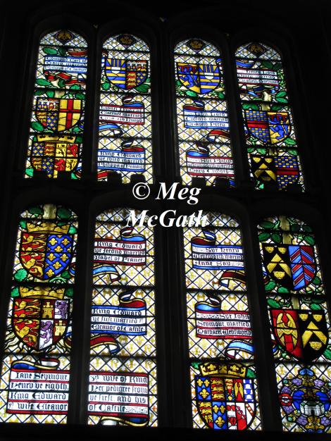 Pedigree window of Queen Jane Seymour
