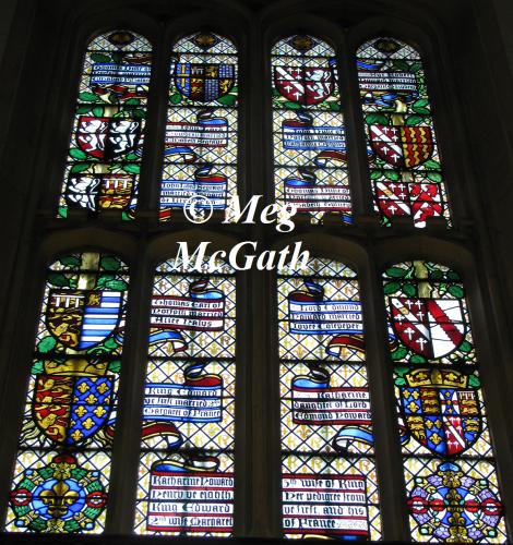 Pedigree window of Queen Katherine Howard