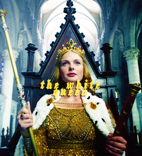 Rebecca Ferguson as Queen Elizabeth.