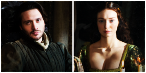 George and Isabel portrayed by David Oakes and Eleanor Tomlinson