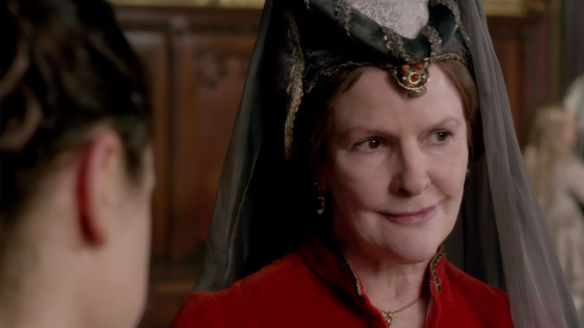 """""""Lady Beauchamp"""" portrayed by Frances Tomelty"""