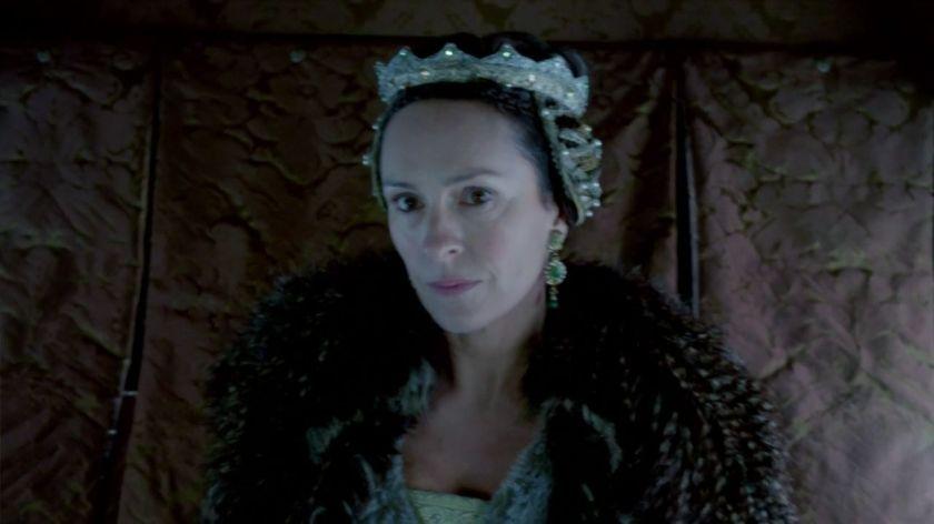 Lady Warwick portrayed by Juliet Aubrey